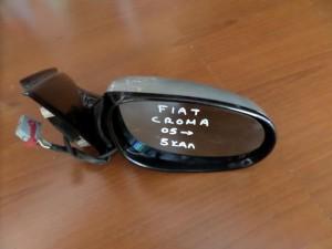 Fiat croma 2005-2011 ηλεκτρικός καθρέπτης δεξιός ασημί (5 καλώδια-γαλάζιο πλαίσιο)