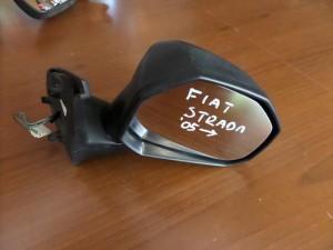 Fiat strada 2004-2009 ηλεκτρικός καθρέπτης δεξιός άβαφος-μαύρος