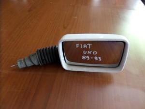 Fiat uno 1989-1995 μηχανικός καθρέπτης δεξιός άσπρος