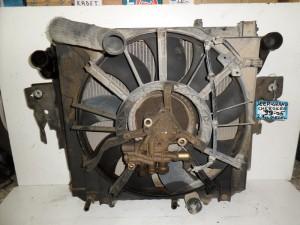 Grand cherokee 99-05 2.7cc diesel ψυγείο κομπλέ (νερού-aircondition-βεντιλατέρ-intercooler-λαδιού)