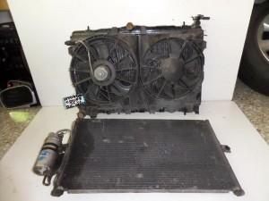 Hyundai coupe 1997-2001 2.0cc βενζίνη ψυγείο κομπλέ (νερού-βεντιλατέρ-air condition)