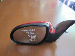 Hyundai i30 2007-2012 ηλεκτρικός καθρέπτης αριστερός κόκκινος (5 ακίδες)