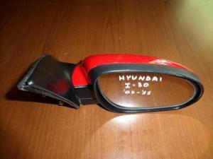 Hyundai i30 2007-2012 ηλεκτρικός καθρέπτης δεξιός κόκκινος