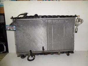 Hyundai sonata 01-05 2.4cc-2.5cc βενζίνη ψυγείο κομπλέ (νερού αυτόματο-air condition)