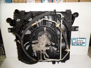 Jeep Grand Cherokee 1999-2005 2.7cc diesel ψυγείο κομπλέ (νερού-air condition-βεντιλατέρ-intercooler-λαδιού)
