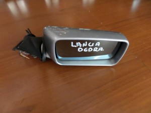 Lancia Dedra 1989-2000 μηχανικός καθρέπτης δεξιός ασημί-γαλάζιο