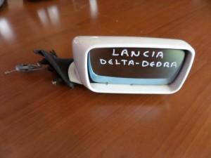 Lancia Dedra 1989-2000 μηχανικός καθρέπτης δεξιός άσπρος
