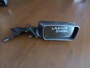 Lancia Dedra 1989-2000 μηχανικός καθρέπτης δεξιός σκούρο ασημί