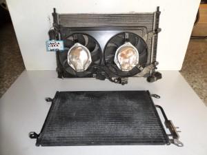 Lancia lybra 2.4cc diesel ψυγείο κομπλέ (νερού-air condition-βεντιλατέρ)