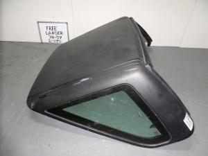 Land Rover Freelander 1998-2007 2θυρο ουρανός μαύρος ματ (άβαφος)