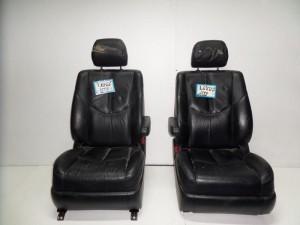 Lexus Rx-300 03 κάθισμα εμπρός με airbag αριστερό-δεξί μαύρο (δερμάτινα-ηλεκτρικά)