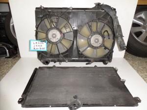 Lexus RX 300 1999-2003 ψυγείο κομπλέ (νερού-aircondition-βεντιλατέρ)