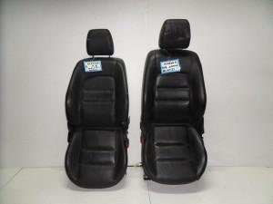 Mazda 6 02-08 κάθισμα εμπρός με airbag αριστερό-δεξί γκρί (δερμάτινα-ηλεκτρικά)
