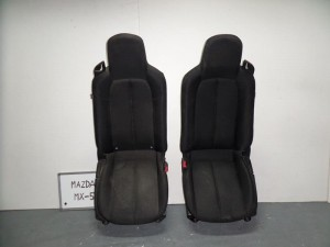 Mazda mx5 06 κάθισμα εμπρός αριστερό-δεξί μαύρα