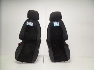 Mazda mx5 II 99-05 κάθισμα εμπρός αριστερό-δεξί γκρί σκούρο
