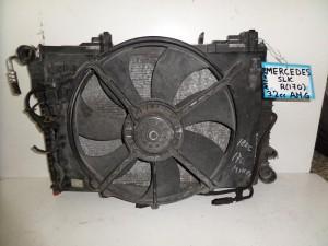 Mercedes Slk R170 03 3.2cc AMG βενζίνη ψυγείο κομπλέ (νερού automatic-air condition-βεντιλατέρ)