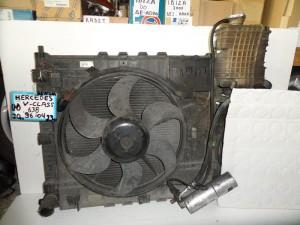 Mercedes vito w638 1996-2003 2.0-2.3cc βενζίνη ψυγείο κομπλέ (νερού-air condition-βεντιλατέρ-intercooler)