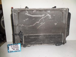 Mercedes c class w202 1993-1999 2.0-2.2cc diesel ψυγείο κομπλέ (νερού-air condition-βεντιλατέρ-υδροκούλερ)