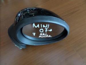 Mini cooper 06-11 ηλεκτρικός ανακλινόμενος καθρέπτης δεξιός μαύρος (7 ακίδες)