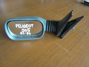 Peugeot 205 83-86 μηχανικός καθρέπτης αριστερός άβαφος