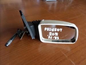 Peugeot 205 86-93 μηχανικός καθρέπτης δεξιός άσπρος