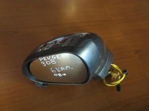 Peugeot 308 2008-2013 ηλεκτρικός καθρέπτης αριστερός γκρί (6 καλώδια)