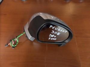 Peugeot 308 08 ηλεκτρικός καθρέπτης δεξιός ασημί (8 καλώδια)