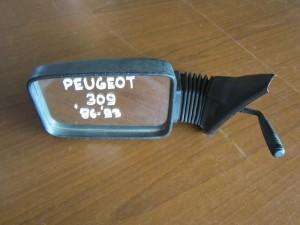 Peugeot 309 86-93 μηχανικός καθρέπτης αριστερός άβαφος