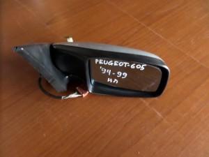 Peugeot 605 1995-1999 ηλεκτρικός καθρέπτης δεξιός ασημί