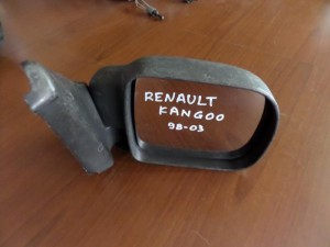 Renault Kangoo 1998-2003 μηχανικός καθρέπτης δεξιός άβαφος