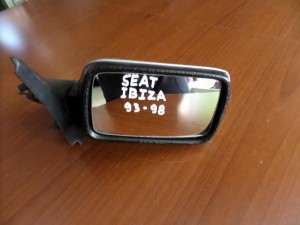 Seat ibiza 93-98 μηχανικός καθρέπτης δεξιός ασημί