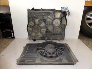 Suzuki Grand Vitara 1999-2005 2.0cc diesel ψυγείο κομπλέ (νερού-aircondition με βεντιλατέρ-βεντιλατέρ)