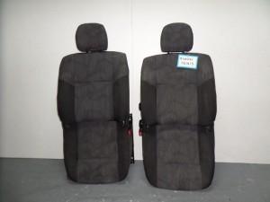 Suzuki Ignis 2000-2008 5θυρο κάθισμα με airbag εμπρός αριστερό-δεξί μαύρο-γκρί