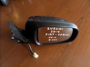 Suzuki sx4 2007-2011 Fiat sedici 2007-2014 ηλεκτρικός καθρέπτης δεξιός ασημί σκούρο (5 καλώδια)