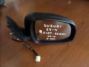 Suzuki SX4 2007-2013 Fiat Sedici 2007-2014 ηλεκτρικός καθρέπτης δεξιός άβαφος (3 καλώδια)