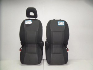 Toyota Rav 4 01-06 κάθισμα εμπρός με airbag αριστερό-δεξί γκρί σκούρο