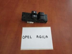 Opel Agila 2008-2014 διακόπτης παραθύρων εμπρός αριστερός (τετραπλός)