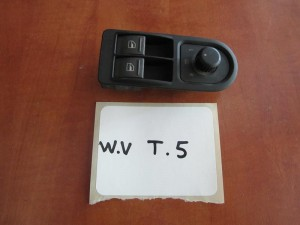 VW transporter T5 03-10 διακόπτης παραθύρων εμπρός αριστερός