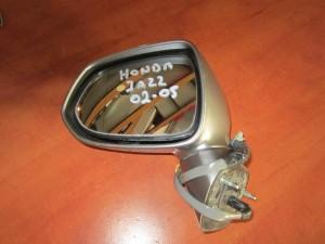 Honda jazz 2002-2005 ηλεκτρικός καθρέφτης αριστερός σκούρο ασημί