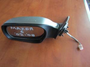 Mazda 6 02-08 ηλεκτρικός ανακλινόμενος καθρέφτης αριστερός ασημί