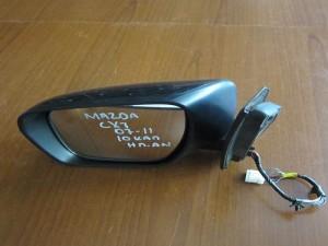 Mazda CX7 07-11 ηλεκτρικός ανακλινόμενος καθρέφτης αριστερός μολυβί (10 καλώδια)