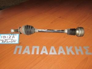 Seat ibiza 08-14 βενζίνη ημιαξόνιο αριστερό