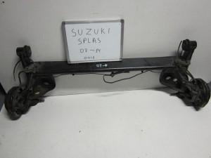 Suzuki splash 07-14 πίσω άξονας
