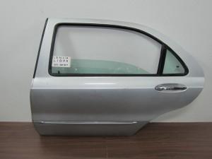 Lancia Lybra 1998-2005 4θυρο πίσω αριστερή πόρτα ασημί
