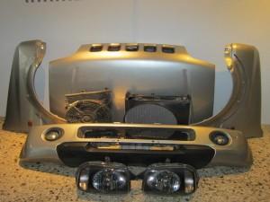 Suzuki Jimny 1998-2004 μούρη-μετώπη εμπρός κομπλέ ασημί