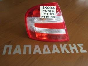 Skoda Fabia 2004-2007 3θυρο-5θυρο πίσω φανάρι αριστερό
