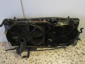 Toyota celica 2000-2006 ψυγεία σετ (ψυγείο νερού-ψυγείο aircondition-βεντιλατέρ διπλό)