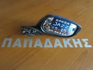 Honda Jazz 2009-2014 ηλεκτρικός ανακλινόμενος καθρέφτης δεξιός ανοιχτό μπλέ