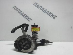 Nissan Pathfinder 2005-2012 μπουκάλα εμπρός δεξιά κομπλέ (με ψαλίδια και ημιαξόνιο)