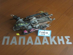Skoda Fabia 1999-2007 άξονας τιμονιού με διακόπτη μίζας